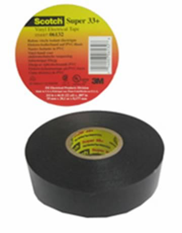 3M TAPE SUPER 33 NEGRO 3/4X20MTS COSTA RICA